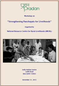 Strengthening Panchayats for Livelihoods