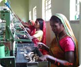 Micro-enterprises (Tasar yarn production, Mushroom cultivation and Poultry rearing)
