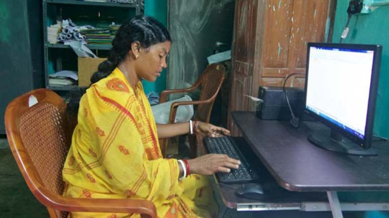 Rekha-learnt-MS-Excel-and-MS-Word-to-work-as-Sangha-Coordinator